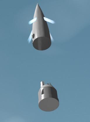 Image: Capsule separation