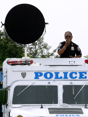 NYPD trains with Long Range Acoustic Device