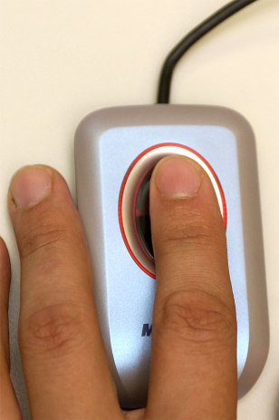 Microsoft Fingerprint Reader