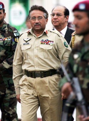 IMAGE: PAKISTAN PRESIDENT PERVEZ MUSHARRAFi