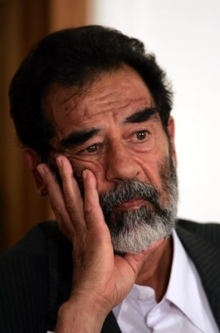FILE PHOTO: SADDAM HUSSEIN
