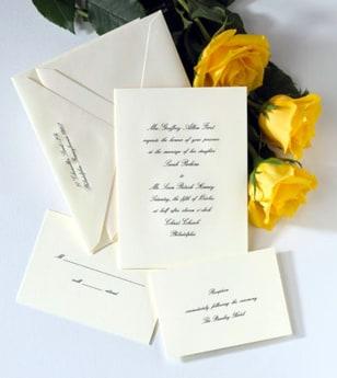 Image: Crane invitation