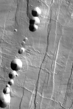 Image: Martian pit chain