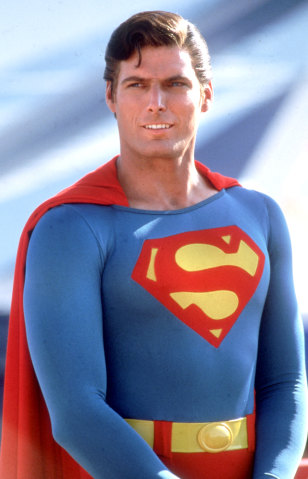 Image: Reeve as Superman