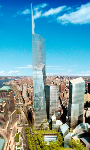 Image: Proposed Freedom Tower