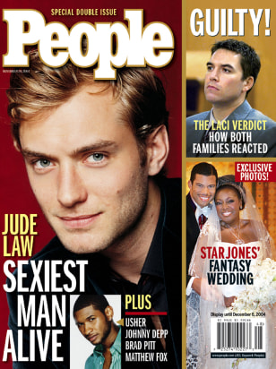 British actor Jude Law named People magazine Sexiest Man Alive