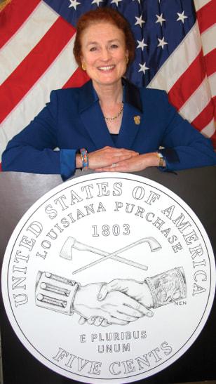 U.S. Mint Director Henrietta Holsman Fore