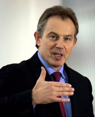 British Prime Minister Blair