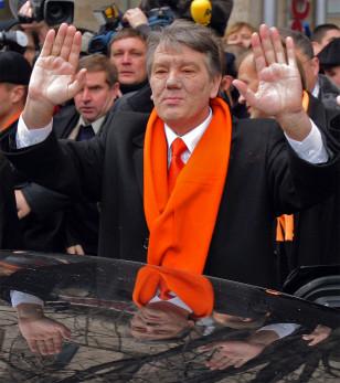Image: Ukrainian presidential candidate Viktor Yushchenko.