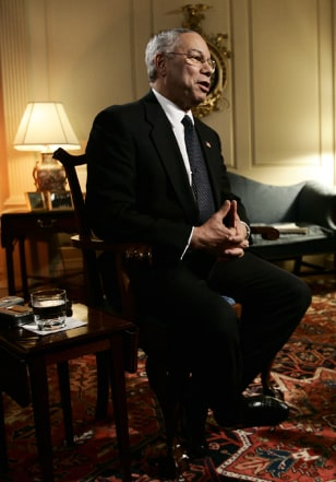 Image: Secretary of State Colin Powell.