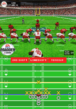 screenshot from 'Madden NFL 2005'