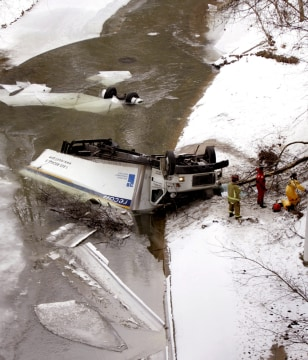 IMAGE: TRUCK ACCIDENT