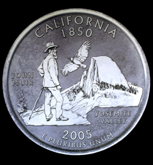 CALIFORNIA QUARTER