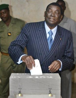 Togolese President Gnassingbe Eyadema