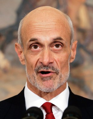 File photo of U.S. Appeals Court Judge Michael Chertoff