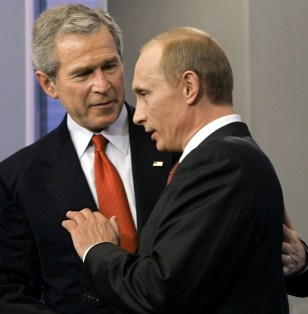 bush and putin relationship