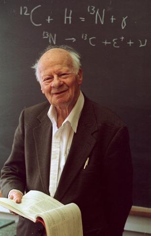 Image: Bethe in 1996