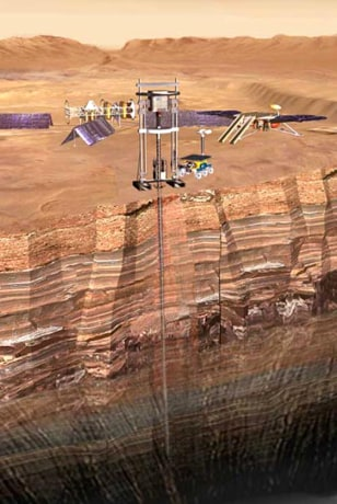 Image: Drilling on Mars
