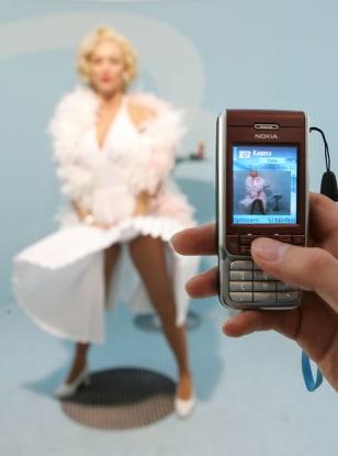 Camera phone at CeBIT