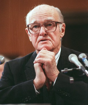 Image: Former Ambassador and Pulitzer-Prize-winning historian George F. Kennan.