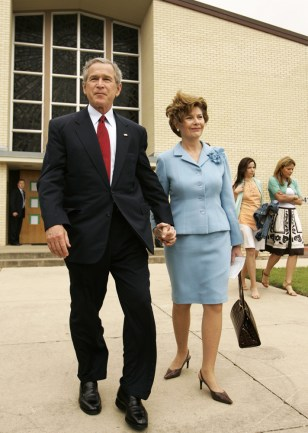 Image: President and Laura Bush