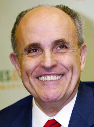 "Giuliani Signs Copies Of His Book ""Leadership"""