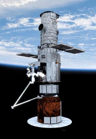 Image: Robotic Hubble module