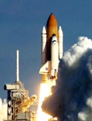 last launch of shuttle Columbia in January 2003