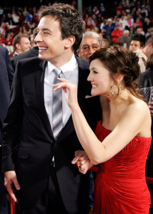 Jimmy Fallon And Drew Barrymore Fever Pitch