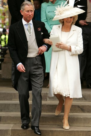 Image: Charles and Camilla wed