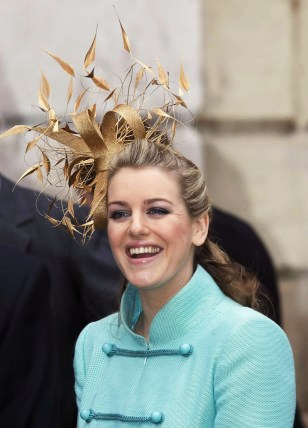royal wedding guests go crazy for feathers world news