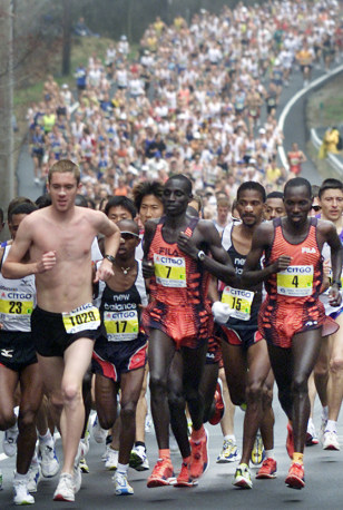 BOSTON MARATHON 2002
