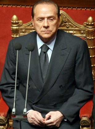 Italian Premier Silvio Berlusconi resignes