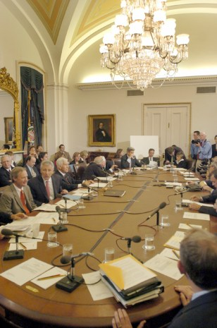 The Senate Foreign Relations Committee meets on the Bolton nomination to be US Ambassador to the UN