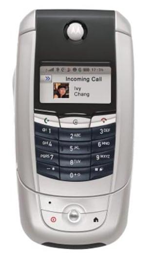 Motorola A780 phone