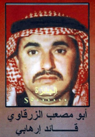 Image: Poster of al-Zarqawi
