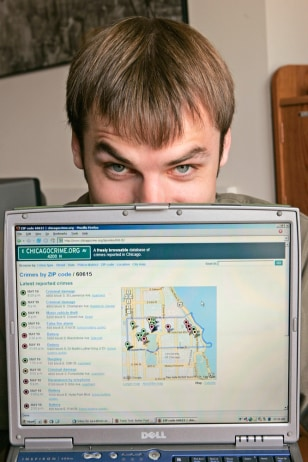 Adrian Holovaty and his crime-mapping site