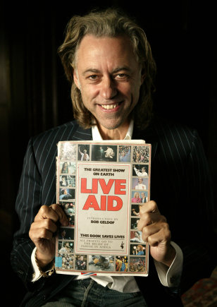 Live Aid Artists 20 Years On - Studio
