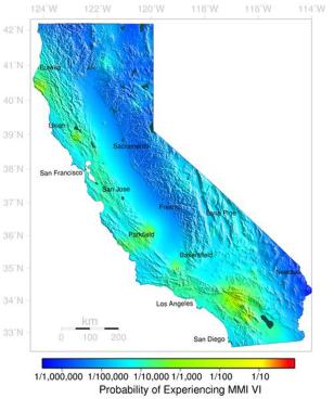 Image: Quake forecast