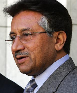Image: Pakistan President Musharraf