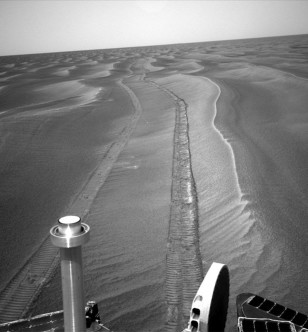 Image: Opportunity track