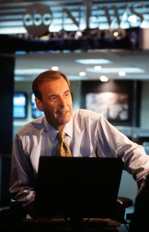Undated handout photo of ABC News television anchor Peter Jennings
