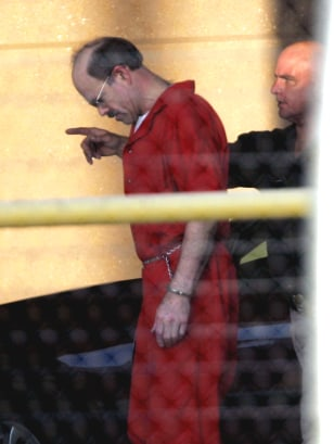 IMAGE: BTK Killer Dennis Rader enters prison