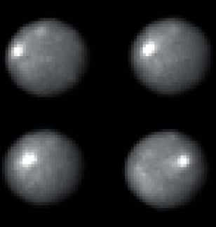 Snapshots of the asteroid 1 Ceres