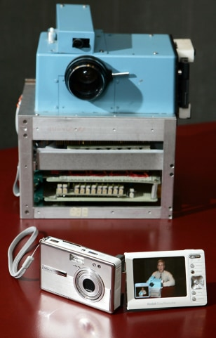 Kodak's prototype digital camera