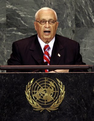 Ariel Sharon, Prime Minister of the Stat