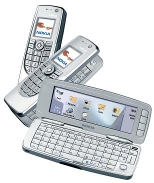 Nokia's 9300 smart phone