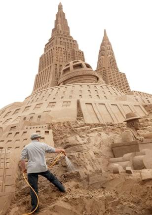 Sand Sculptures Festival