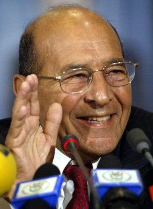 Algerian Interior Minister Nourredine Ya