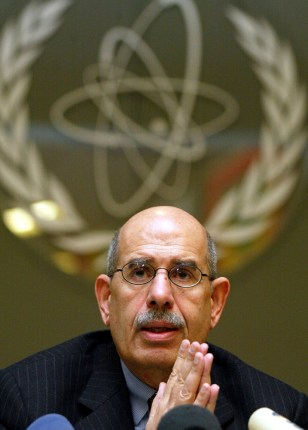 Nobel Peace Prize winner Mohamed ElBaradei